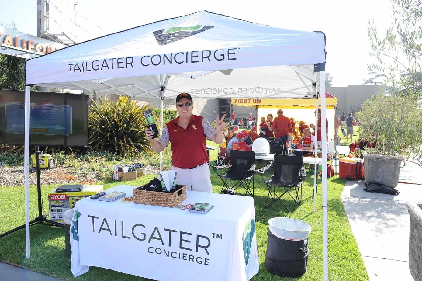 Tailgate Food & USC Tailgate Packages - Tailgater Concierge