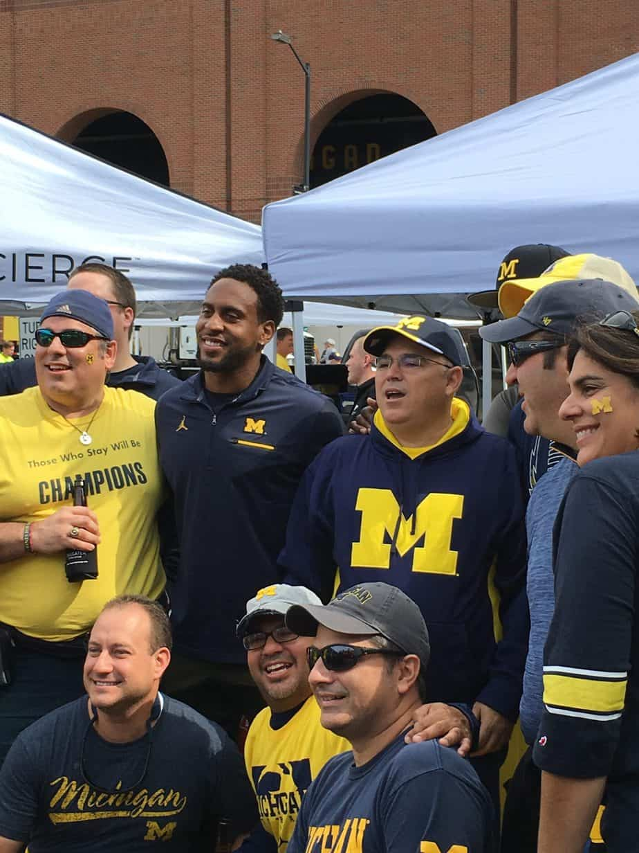Tailgating Michigan Wolverines