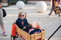 tailgating with kids
