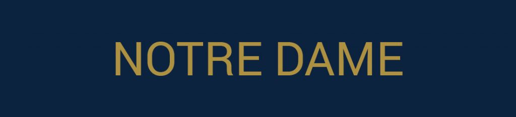 Notre Dame Tailgate Packages