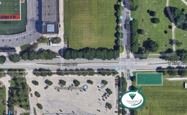 University of Illinois Tailgate Location