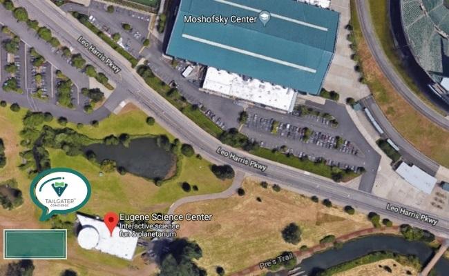University of Oregon Tailgate Location