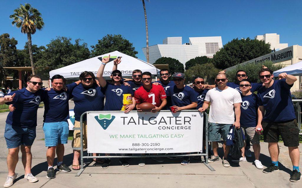 cf5cc657 Tailgater Concierge - LA Rams Tailgate Packages