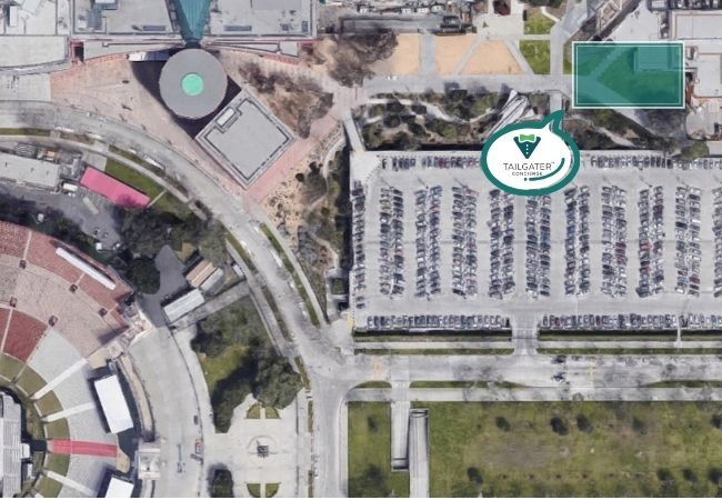 USC Tailgate Location