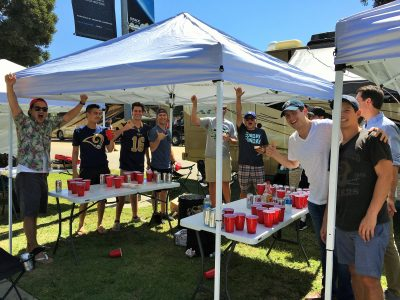 Tailgate Service at LA Rams Game