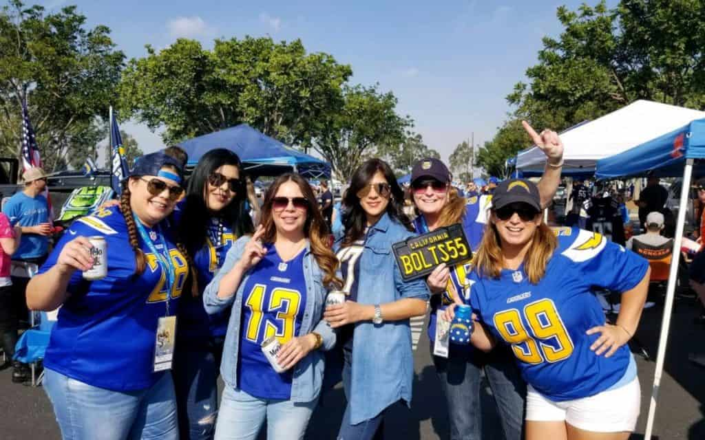 Chargers Fans