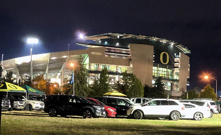 Tailgate Service at Eugene Science Center