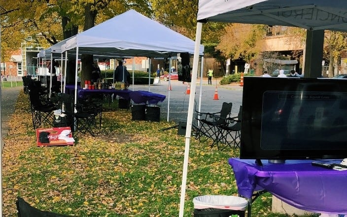 Tailgate Service at Northwestern