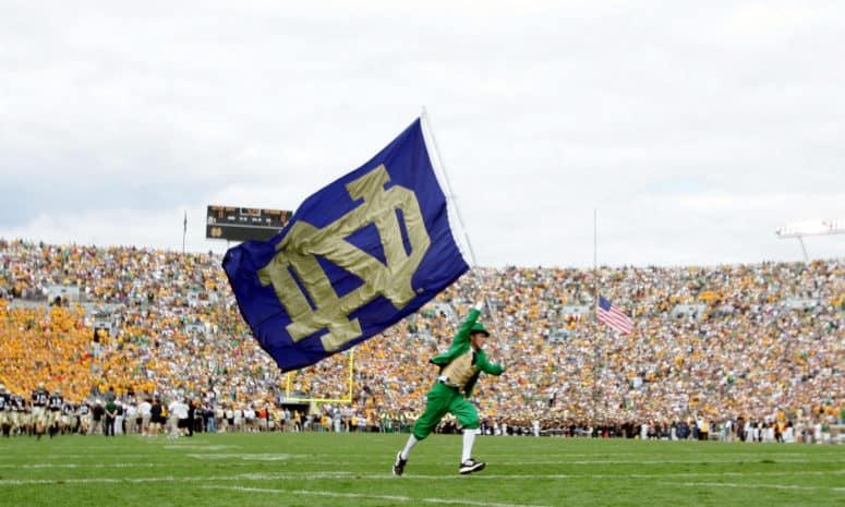Tailgating at Notre Dame Football Games