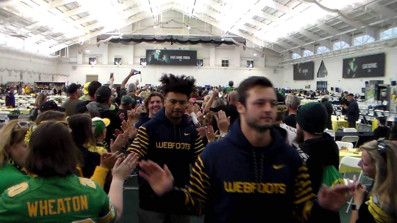 Oregon Ducks March to Victory