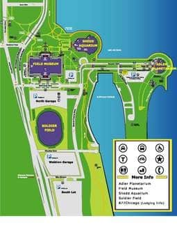 Parking at Soldier Field for Bears Games