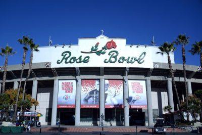 Tailgating at the Rose Bowl
