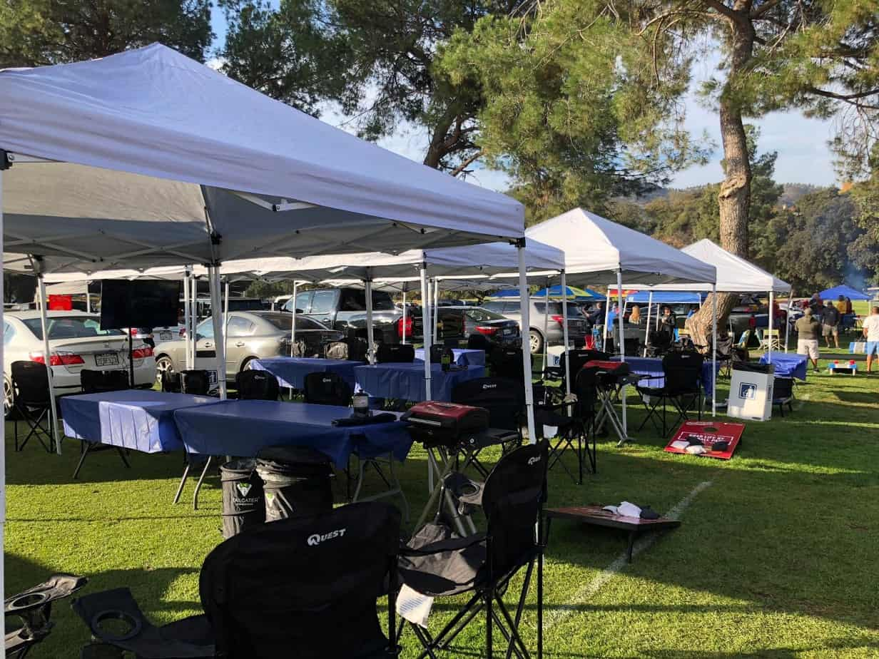 Tailgating at UCLA Football Games