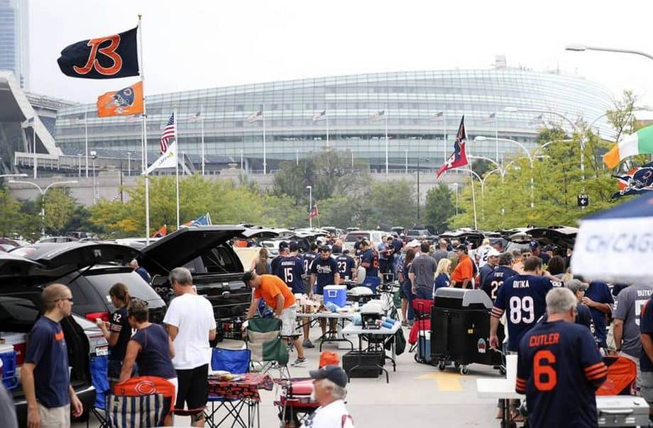 Tailgating at Chicago Bears Games
