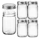 Amazon Mason Jars for Bloody Marys