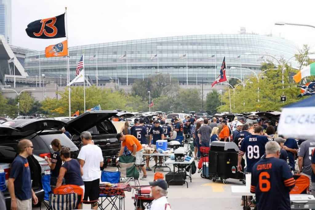 Chicago Bears Tailgate Service