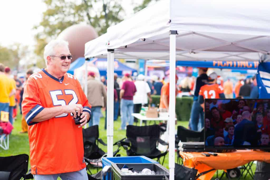 University of Illinois Tailgate Service in Grange Grove