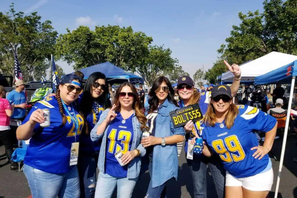 LA Chargers Tailgate Service at Sofi Stadium