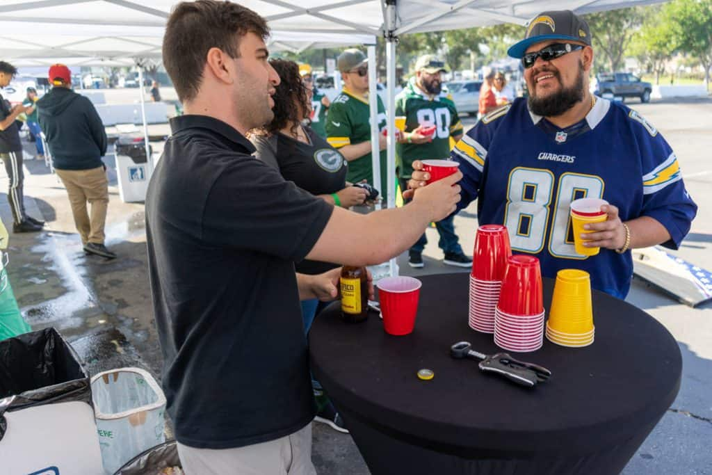LA Chargers Tailgate Services at Sofi Stadium