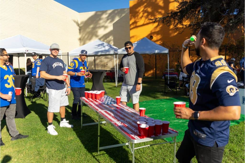 LA Rams Tailgate Service at SoFi Stadium