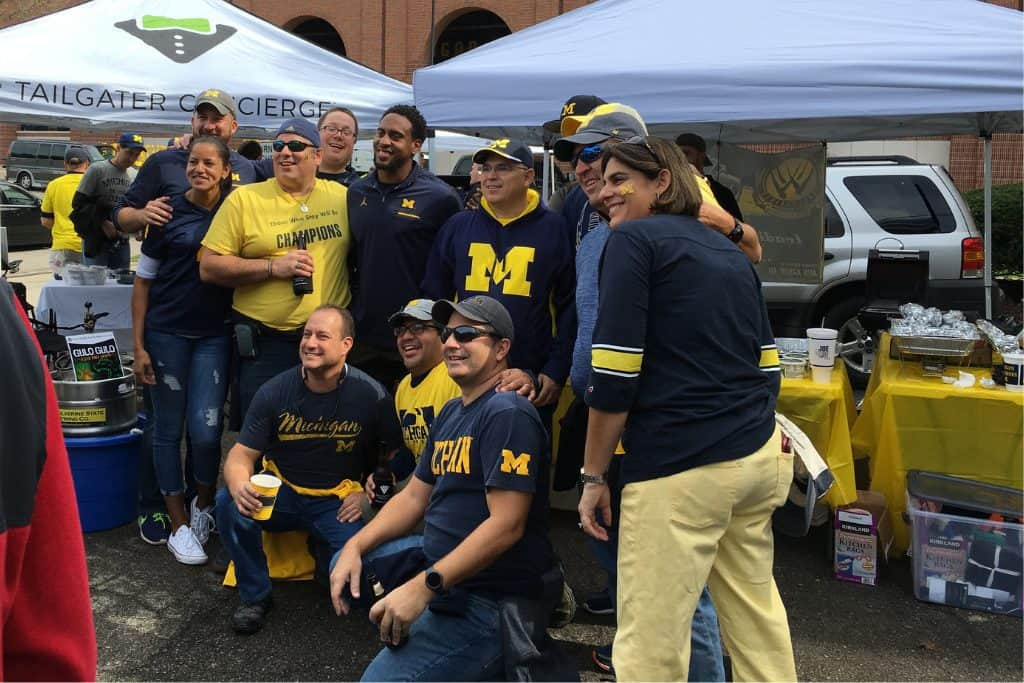Tailgate Service at University of Michigan