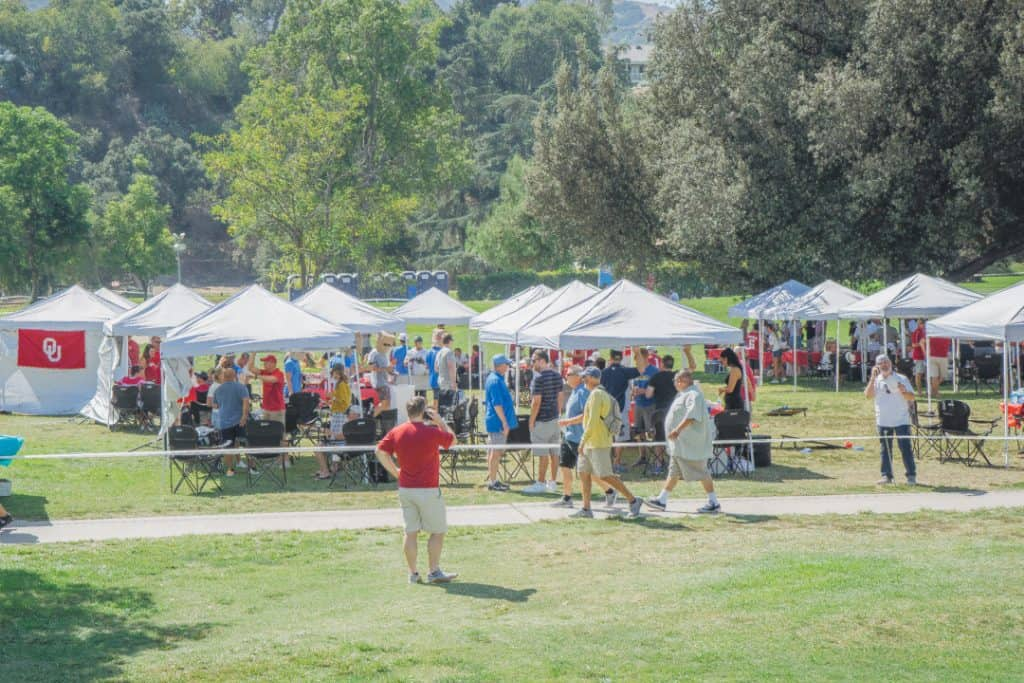 UCLA Tailgate Service at the Rose Bowl
