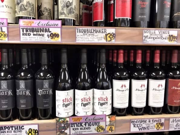High Quality, Affordable Trader Joe's Wines